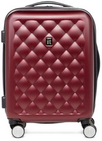 "IT Luggage 20.7"" 8 Wheel Cushion Lux Expandable Trolley Case"
