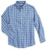 Vineyard Vines Boy's Bayville Check Woven Shirt