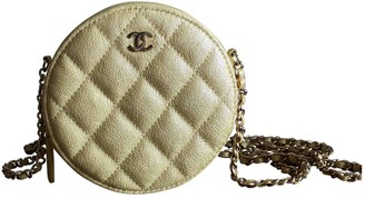 Chanel Wallet on Chain Yellow Leather Clutch bags