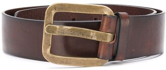 DSQUARED2 Antique-Tone Buckled Belt