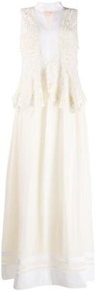 Tory Burch lace top dress