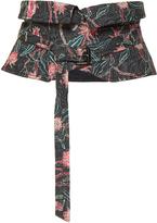 Isabel Marant Leni Printed Linen Belt