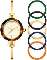 Gigi Bangle Watch, Multi-Color/Gold-Tone, 27 Mm