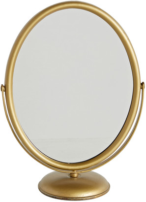 Rejuvenation Pivoting Oval Mirror by Nathan M. Stone Co