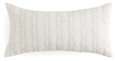 Barbara Barry Ascot Pleated Decorative Pillow, 10 x 20