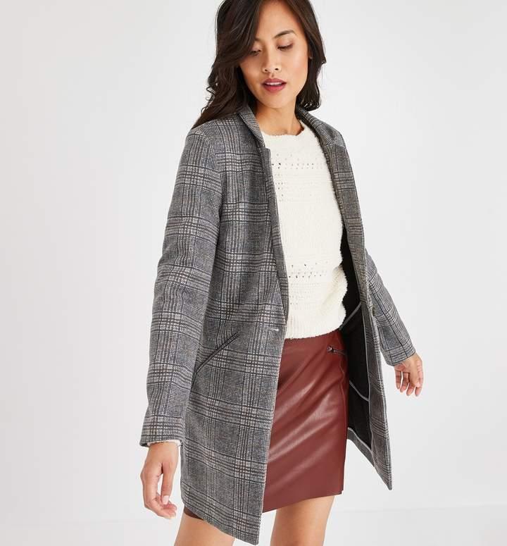 Promod Checked coat