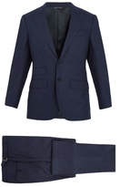 THOM SWEENEY Single-breasted wool suit
