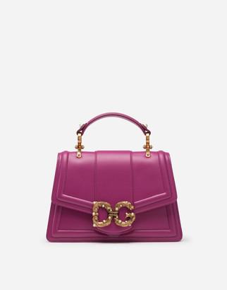Dolce & Gabbana Amore Bag In Calfskin