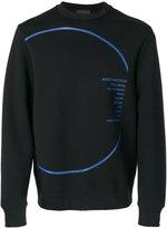 Diesel Black Gold graphic print sweatshirt - men - Cotton/Spandex/Elastane/Lyocell/Viscose - S