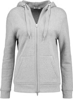 Alexander Wang Cotton-terry hooded top