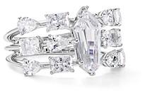 Nadri Eliza Tiered Ring