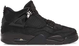Nike x Olivia Kim Air Jordan 4 Retro Genuine Calf Hair High Top Sneaker