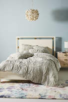 Anthropologie Ruched Wave Quilt