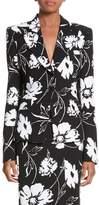 Michael Kors Floral Print Blazer