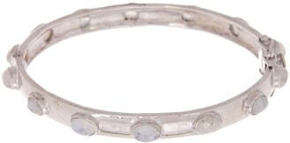 Forever Creations Usa Inc. Sterling Silver Moonstone Bangle