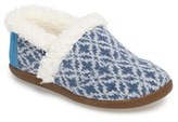 Toms Toddler Girl's Fair Isle Slipper