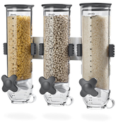 Zevro Smartspace Wall Mount 13 Ounce Triple Canister