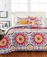 Idea Nuova Raya Medallion 4 Piece Twin Comforter Set