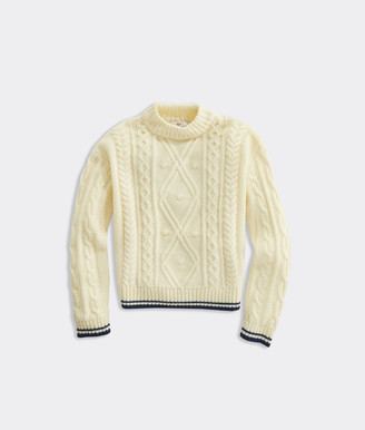 Vineyard Vines Girls' Fisherman Sweater