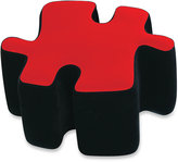Bed Bath & Beyond TwoinToned Plush Puzzotto Ottoman in Red