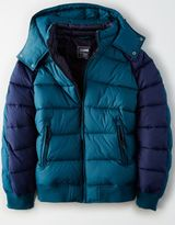 American Eagle Outfitters AE Colorblock Puffer Ski Jacket