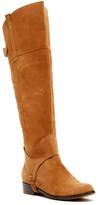 Restricted Trace Suede Riding Boot