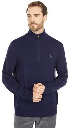 Polo Ralph Lauren Wool-Cashmere Sweater (Hunter Navy) Men's Clothing