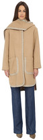See by Chloe Double Face Hood Coat