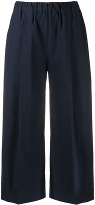 P.A.R.O.S.H. Wide Cropped Trousers