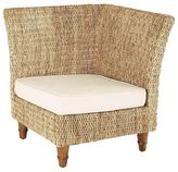 Pier 1 Imports Malabon Wicker Corner Chair