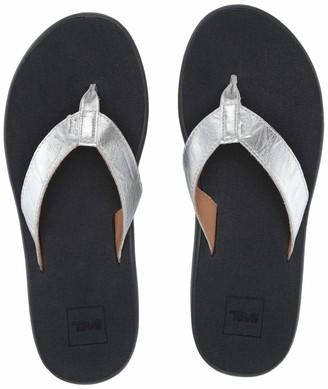 Teva Women's W VOYA FLIP Metallic Sandal