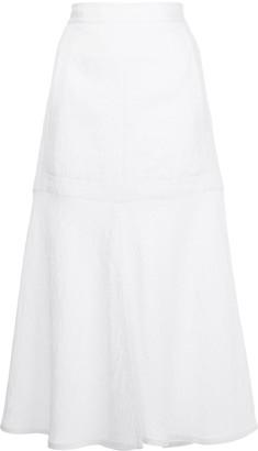 Tibi Front Slit Midi-Skirt