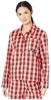 ban.do Long Sleeve Leisure Shirt (Buffalo Plaid) Women's Clothing