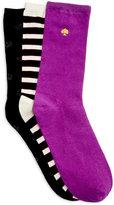 Kate Spade Women's 3-Pk. Crew Socks Gift Box Set