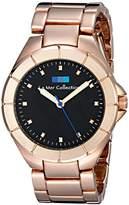 La Mer Women's LMOL009 Analog Display Japanese Quartz Rose Gold Watch
