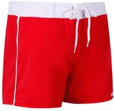 Sauvage Solid Retro Square Cut Swim Short 18678