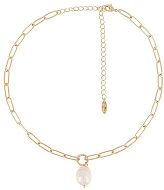 Ettika Pearl Pendant Necklace