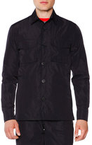 Tomas Maier Button-Down Field Jacket, Black