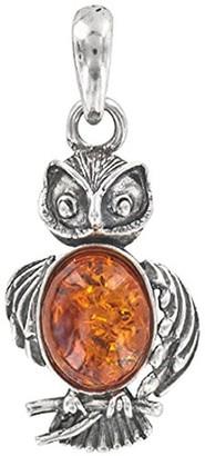 Nature d'Ambre Single Pendant (No Chain) Silver 925 Amber - 31610214