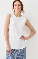 J. Jill Perfect Pima Shirttail Sleeveless Tee