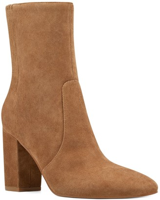 Nine West Windsor Women's Suede Ankle Boots