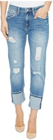 Mavi Jeans Brenda High-Rise Boyfriend in Light Indigo Vintage Women's Jeans
