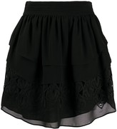IRO Mugue tiered ruffle skirt