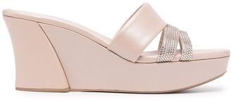 Rene Caovilla Farah wedge sandals
