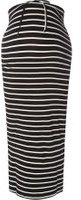 Dorothy Perkins Womens **Maternity Monochrome Toggle Maxi Skirt- Black