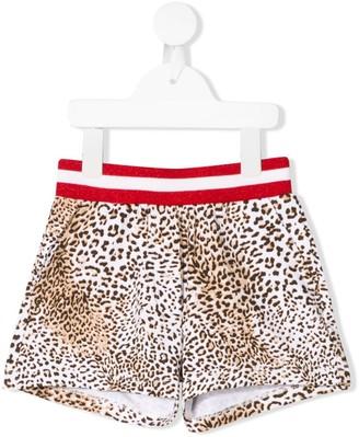 MonnaLisa Leopard Print Shorts