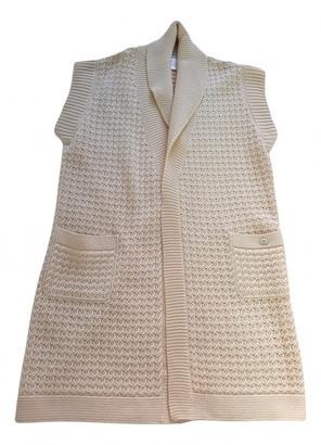 Chanel Ecru Cashmere Knitwear