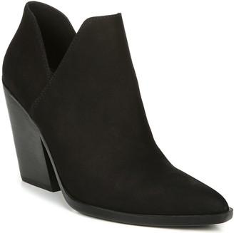 Naturalizer Block Heel Leather Booties - Rosetta