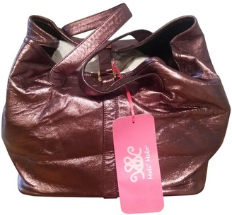Meli-Melo Metallic Leather Handbags