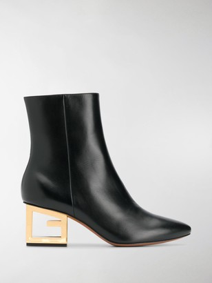 Givenchy Triangle G 60mm ankle boots